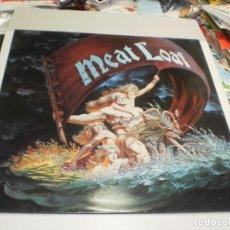 Discos de vinilo: LP MEAT LOAF. DEAD RINGER. EPIC 1981 ENGLAND CON INSERTO DE LETRAS (PROBADO, BIEN, BUEN ESTADO. Lote 239680935