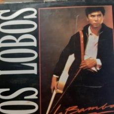 Discos de vinilo: LOS LOBOS-LA BAMBA. Lote 239684290