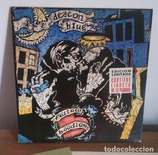 DEACON BLUE - FELLOW HOODLUMS - EDICION LIMITADA, CON LIBRETO - 1991 - LP (Música - Discos - LP Vinilo - Pop - Rock - New Wave Internacional de los 80)