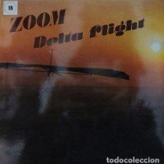 Discos de vinilo: ZOOM - BALLET ZOOM DE TVE - DELTA FLIGHT - LP DE VINILO FUNK DISCO 1980. Lote 239697055