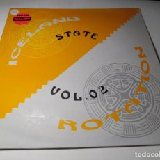Dischi in vinile: MAXI - STATE – VOL. 02 - ICELAND / ROTATION - ST-005-MX ( VG+ / VG+) SPAIN 1994 ***. Lote 239705715