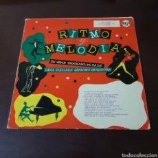 Discos de vinilo: RITMO Y MELODIA 1958 RCA - PROGRAMA DE BAILE CON 16 GRANDES ORQUESTAS. Lote 239727705