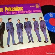 Discos de vinil: LOS PEKENIKES EL VITO/YO SE/ES MEJOR OLVIDAR/SOSPECHA EP 1964 HISPAVOX. Lote 239768765