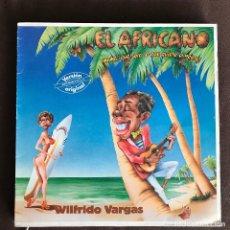 Discos de vinilo: WILFRIDO VARGAS - EL AFRICANO - 12'' MAXISINGLE ARIOLA SPAIN 1985. Lote 239770145