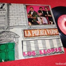 Discos de vinil: LOS LLOPIS LA PUERTA VERDE/ROCK A BEATIN BOOGIE/NO SEAS CRUEL +1 EP 1960 ZAFIRO. Lote 239771115