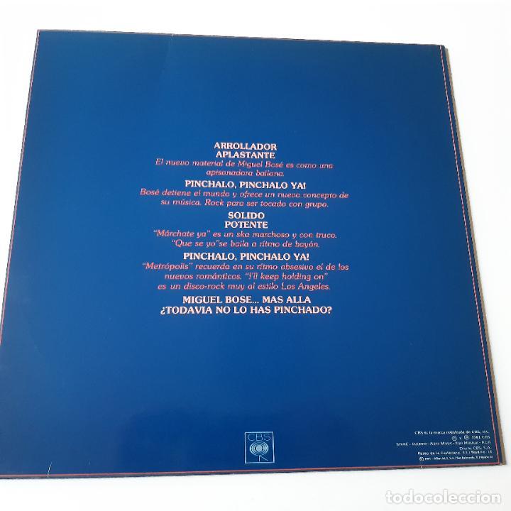 Discos de vinilo: MIGUEL BOSE - MARCHATE YA - MAXI SINGLE 1981- ESPECIAL DISCOTECAS- EXC. ESTADO. - Foto 3 - 239773965