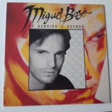 Discos de vinilo: MIGUEL BOSE - DE BANDIDO A DUENDE - LP 1988 + ENCARTE - VINILO EXC. ESTADO.. Lote 239775380