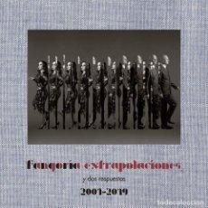 Dischi in vinile: 2LP + CD FANGORIA EXTRAPOLACIONES Y DOS RESPUESTAS 2001-2019 VINILOS + CD ALASKA. Lote 239782110