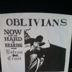 Discos de vinilo: OBLIVIANS EP. 1994 ESTRUS RECORDS. Lote 239800350