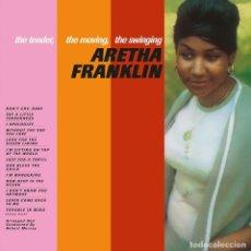 Discos de vinilo: ARETHA FRANKLIN LP VIRGIN VINYL 180G * THE TENDER, THE MOVING, THE SWINGING * BONUS * PRECINTADO. Lote 262401910