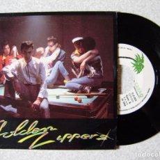 Discos de vinilo: GOLDEN ZIPPERS...UNICO DISCO.QUEMANDO GASOLINA + 2...EX...ARAGON. Lote 239820025