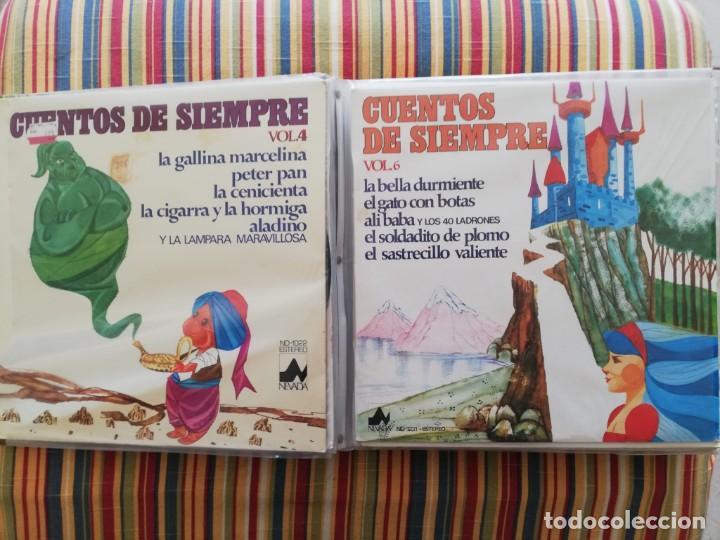 LOTE 24 DISCOS DE VINILO DE CUENTOS + ÁLBUM: CUENTOS DE SIEMPRE, POPULARES: EL LIBRO DE LA SELVA... (Música - Discos - LPs Vinilo - Música Infantil)