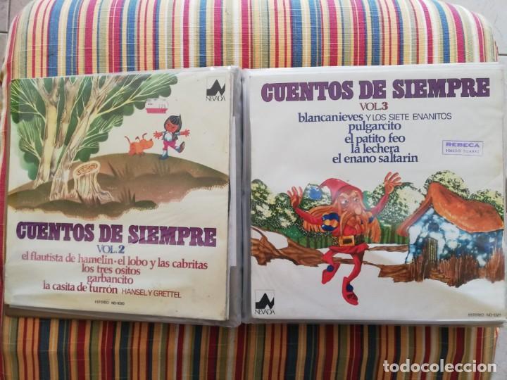 Discos de vinilo: LOTE 24 DISCOS DE VINILO DE CUENTOS + ÁLBUM: CUENTOS DE SIEMPRE, POPULARES: EL LIBRO DE LA SELVA... - Foto 2 - 239836710