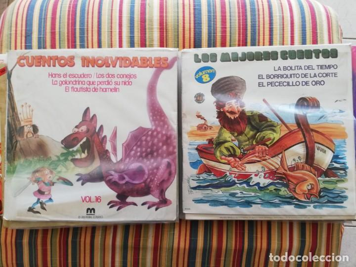 Discos de vinilo: LOTE 24 DISCOS DE VINILO DE CUENTOS + ÁLBUM: CUENTOS DE SIEMPRE, POPULARES: EL LIBRO DE LA SELVA... - Foto 8 - 239836710