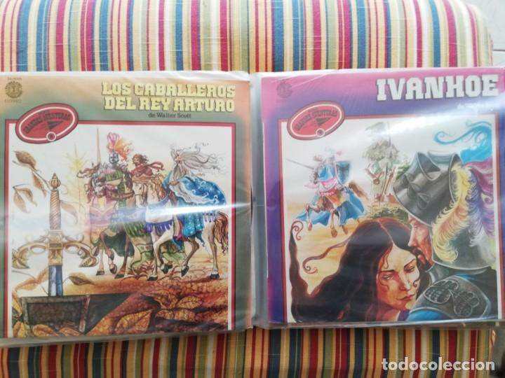 Discos de vinilo: LOTE 24 DISCOS DE VINILO DE CUENTOS + ÁLBUM: CUENTOS DE SIEMPRE, POPULARES: EL LIBRO DE LA SELVA... - Foto 10 - 239836710