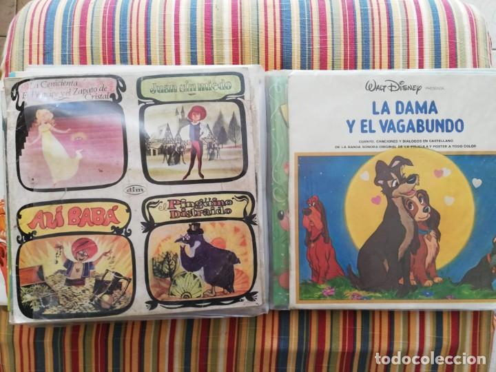 Discos de vinilo: LOTE 24 DISCOS DE VINILO DE CUENTOS + ÁLBUM: CUENTOS DE SIEMPRE, POPULARES: EL LIBRO DE LA SELVA... - Foto 13 - 239836710