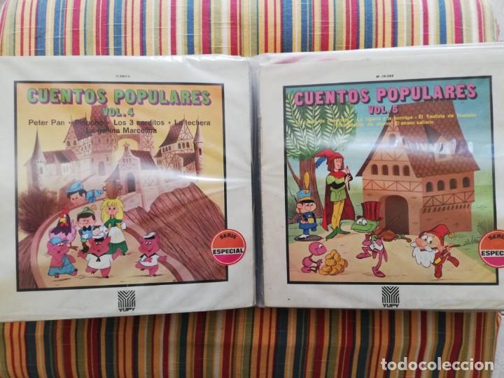 Discos de vinilo: LOTE 24 DISCOS DE VINILO DE CUENTOS + ÁLBUM: CUENTOS DE SIEMPRE, POPULARES: EL LIBRO DE LA SELVA... - Foto 4 - 239836710