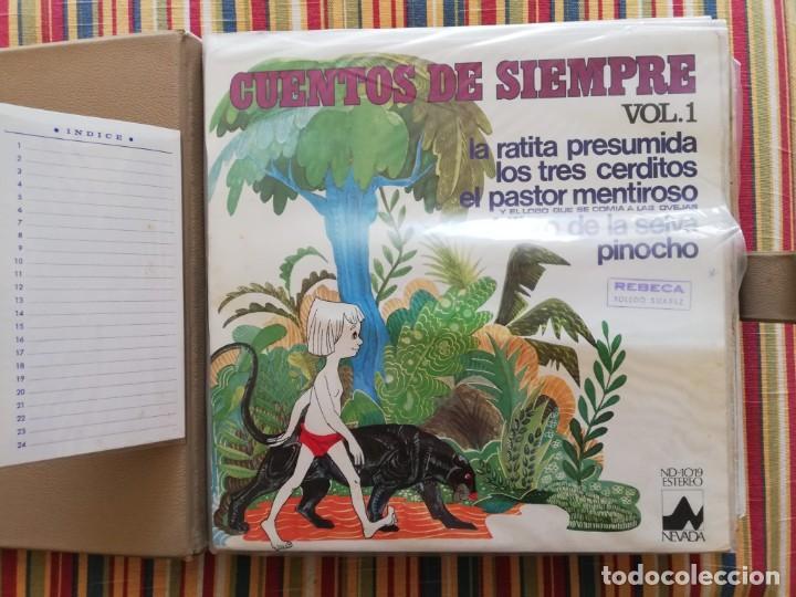 Discos de vinilo: LOTE 24 DISCOS DE VINILO DE CUENTOS + ÁLBUM: CUENTOS DE SIEMPRE, POPULARES: EL LIBRO DE LA SELVA... - Foto 3 - 239836710