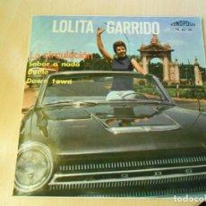 Discos de vinilo: LOLITA GARRIDO, EP, SABOR A NADA + 3 , AÑO 1965. Lote 239838940