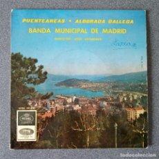 Discos de vinilo: VINILO SINGLE BANDA MUNICIPAL DE MADRID. Lote 239855790