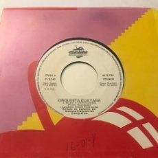"""Disques de vinyle: ORQUESTA GUAYABA 7"""" (PURO Y VERDADERO) VINILO. Lote 239877230"""