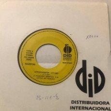 "Discos de vinilo: LETICIA SABATER 7"" (LETI RAP) VINILO. Lote 239877920"