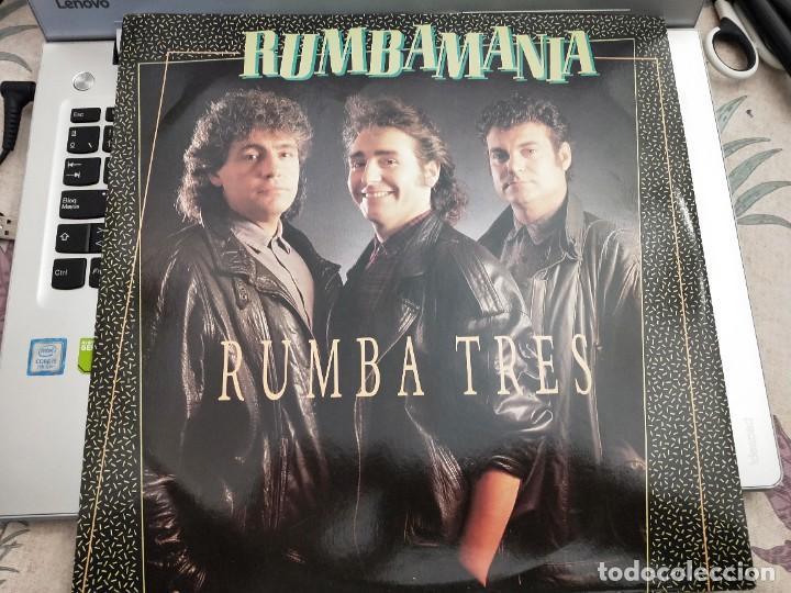 """RUMBA TRES - RUMBAMANIA (12"""") SELLO:RED BULLET CAT. Nº: K WEST T3.COMO NUEVO. MINT / NEAR MINT (Música - Discos de Vinilo - Maxi Singles - Flamenco, Canción española y Cuplé)"""