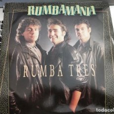 "Discos de vinilo: RUMBA TRES - RUMBAMANIA (12"") SELLO:RED BULLET CAT. Nº: K WEST T3.COMO NUEVO. MINT / NEAR MINT. Lote 239906315"