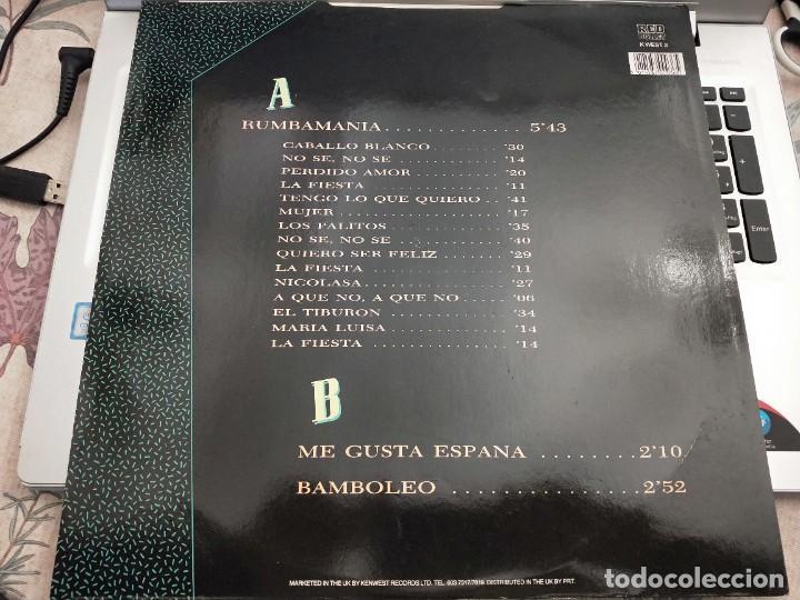 "Discos de vinilo: Rumba Tres - Rumbamania (12"") Sello:Red Bullet Cat. nº: K WEST T3.COMO NUEVO. MINT / NEAR MINT - Foto 2 - 239906315"