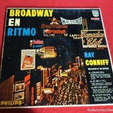 Discos de vinilo: RAY CONNIFF Y SU ORQUESTA : BROADWAY EN RITMO - LP. Lote 239916100
