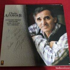 Discos de vinilo: CHARLES AZNAVOUR - LES PLAISIRS DEMODES - - LP. Lote 239917985