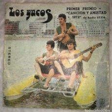 Disques de vinyle: EP LOS YUCOS PRIMER PREMIO CANCION Y AMISTADA RADIO ECCA 1972 - VAYA CON DIOS - PEDIDOS MINIMO 7€. Lote 239919200