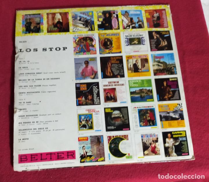 Discos de vinilo: LOS STOP - LOS STOP (LP BELTER 1968)- LP - Foto 2 - 239921945