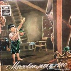 Disques de vinyle: L.P. MARCELINO, PAN Y VINO. Lote 239935175