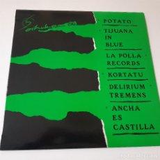Discos de vinilo: OIHUKA 88- POTATO-LA POLLA RECORDS-KORTATU- DELIRIUM TREMENS -LP 1988+ENCARTE- VINILO COMO NUEVO... Lote 239953660