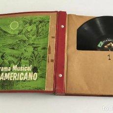 Discos de vinilo: COLECION DISCOS VINILO RCA VICTORMUSICA SUD AMERICANA AÑOS 50. Lote 239961140