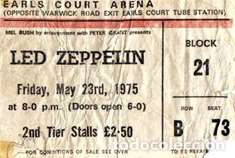 Discos de vinilo: Led Zeppelin - On Stage In Europe 1975 - Foto 3 - 239962090