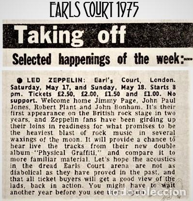 Discos de vinilo: Led Zeppelin - On Stage In Europe 1975 - Foto 4 - 239962090
