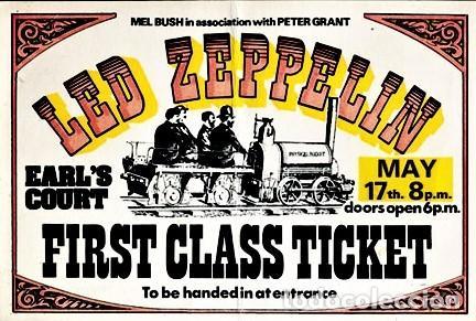Discos de vinilo: Led Zeppelin - On Stage In Europe 1975 - Foto 7 - 239962090