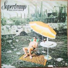 Discos de vinilo: SUPERTRAMP - CRISIS? WHAT CRISIS?. Lote 239964785