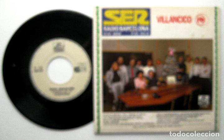 Discos de vinilo: Radio Barcelona - Tus Discjockeys Te Felicitan La Navidad - Single Splash Records 1987 BPY - Foto 2 - 239985275