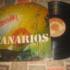 Discos de vinilo: CANARIOS LIBERATE! ( EXPLOSION 1971) OG ESPAÑA LEA DESCRIPCION. Lote 239997280