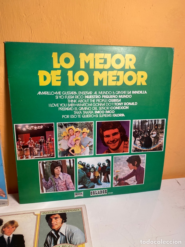 Discos de vinilo: Lote LPs - Foto 3 - 239999270