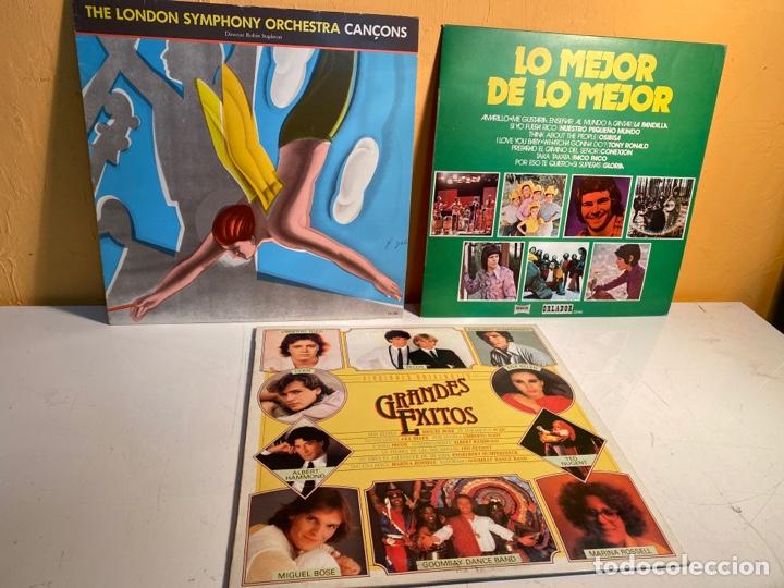 LOTE LPS (Música - Discos - LP Vinilo - Otros estilos)