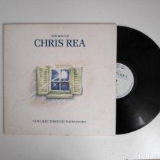 Discos de vinilo: LP. THE BEST OF CHRIS REA, NEW LIGHT THROUGH OLD WINDOWS. VINILO. Lote 240003120