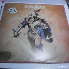 Disques de vinyle: LP DOBLE JUDAS PRIEST. HERO, HERO. VICTORIA 1981 SPAIN (PROBADO, BIEN, BUEN ESTADO). Lote 240004095