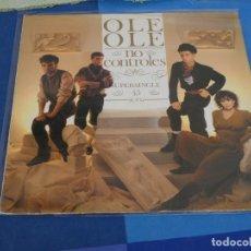 Disques de vinyle: EXPRO MAXI SINGLE OLE OLE NO CONTROLES 1983 VINILO EN BUEN ESTADO. Lote 240020480