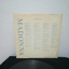 Discos de vinilo: LP MADONNA - TRUE BLUE, SPAIN 1986, CON INSERT Y VINILO EXCELENTE, PERO SIN PORTADA. Lote 240029925