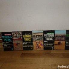 Discos de vinilo: PASODOBLES TOREROS Nº 3 / Nº 4 / Nº 5 / Nº 6 - LOTE 4 EPS - DISPONGO MAS DISCOS DE VINILO. Lote 258472195