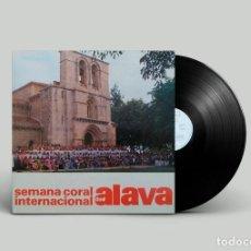 Discos de vinilo: VARIOS – SEMANA CORAL INTERNACIONAL DE ALAVA (1984). Lote 240039785